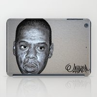 jay z iPad Cases featuring JAY-Z by Jahwan by JAHWAN