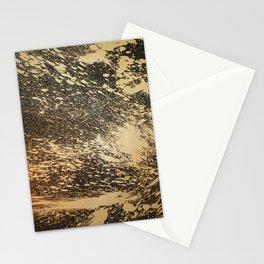 Gold on Black Stationery Cards