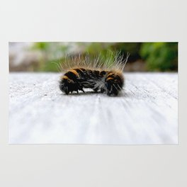 Wannabe Tiger (Fox Moth Caterpillar) Rug