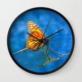 BUTTERFLY LIGHT Wall Clock