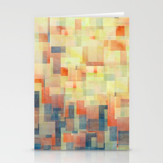 Cubism Dream (Brush Fire Remix) Stationery Cards