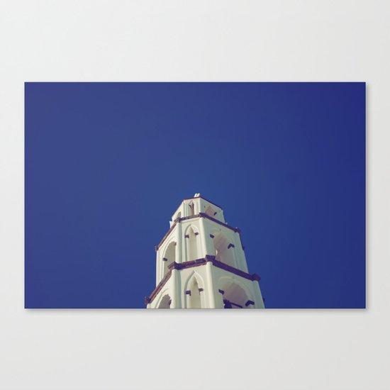 Santorini Churches III Canvas Print