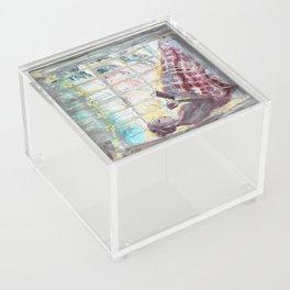 Reading Season:Wintertime Acrylic Box