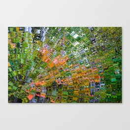 Colorful Wave Abstract Canvas Print