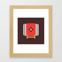 Japan Taiko Drum Framed Art Print