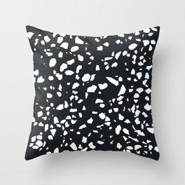 Terrazzo Asteriods Throw Pillow