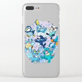 Water Starters Clear iPhone Case