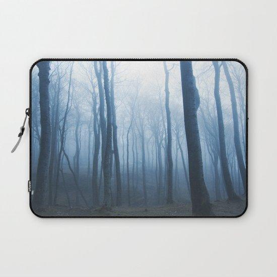 Foggy Woods #society6 #buyart Laptop Sleeve