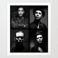 depeche mode Art Prints featuring Venus Mode by House of Venus