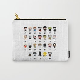 Horror Movies Alphabet Carry-All Pouch