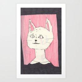 a cat (i like it if you like it) Art Print