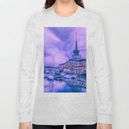 Marine station of Sochi Long Sleeve T-shirt