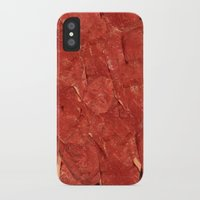 meat iPhone & iPod Cases featuring mEAT by Jevan Strudwick
