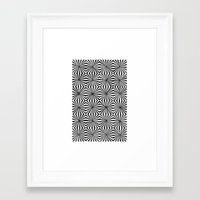 1975 Framed Art Prints featuring Radial (1975) by Jan Sprengers