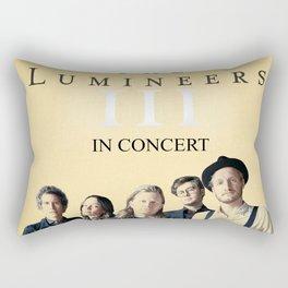 LUMINEERS TOUR Rectangular Pillow