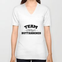 pretty little liars V-neck T-shirts featuring Team Buttahbenzo - Pretty Little Liars (PLL) by swiftstore