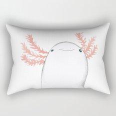 Axolotl Close-Up Rectangular Pillow