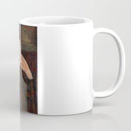 "Amedeo Modigliani ""Adrienne (Woman with Bangs)"" (1916) Coffee Mug"