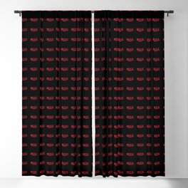 Strange Bull Blackout Curtain