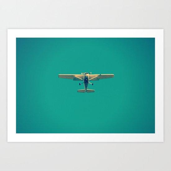 Overcoming Gravity Art Print