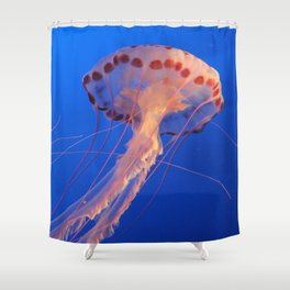 Parachute Of The Medusa Shower Curtain