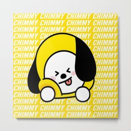 Chimmy Metal Print