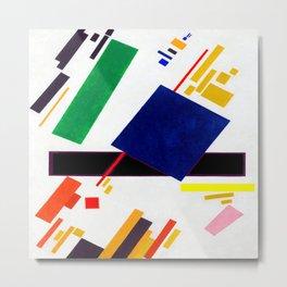 Kazimir Malevich Suprematist Composition Metal Print