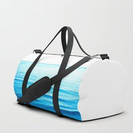 Blue Ocean Illustration Duffle Bag