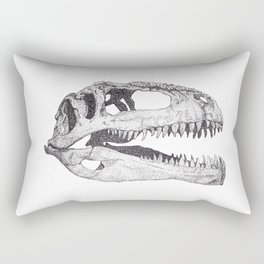 The Anatomy of a Dinosaur II - Jurassic Park Rectangular Pillow