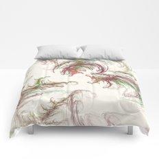 Harvest Winds Fractal Comforters