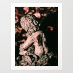 Broken-Winged Angel Art Print