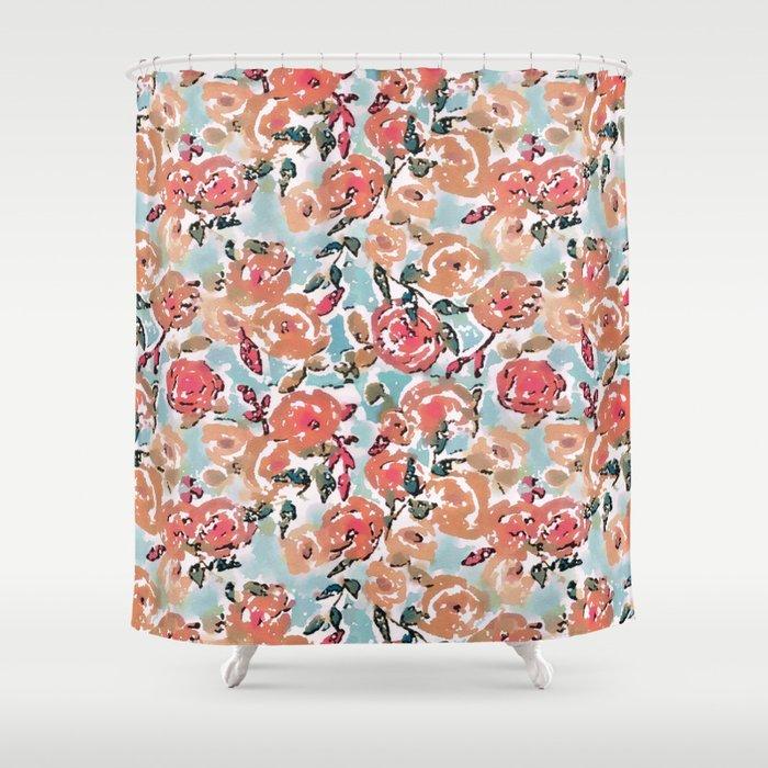 Spring Flor Adore Shower Curtain