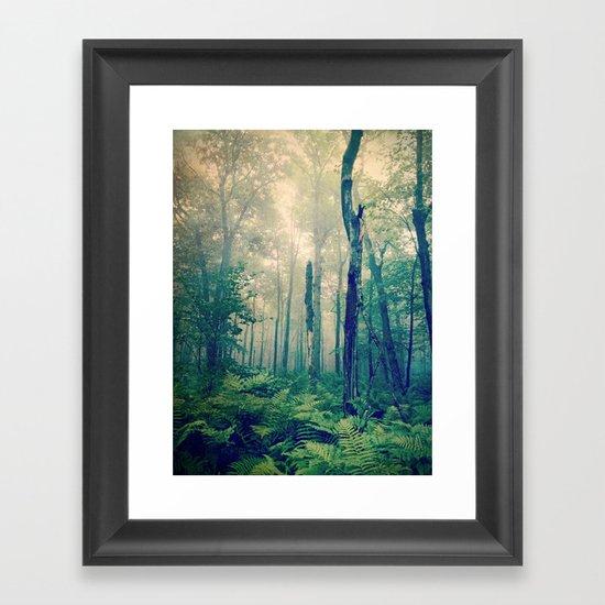 Walk to the Light Framed Art Print
