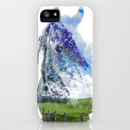 Jacaranda Paddock iPhone Case
