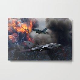 Tornado GR4 Bombing run Metal Print