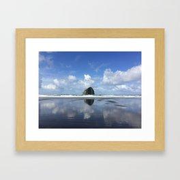 Islands on the coast Framed Art Print
