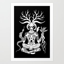 Lord of the Beasts Art Print
