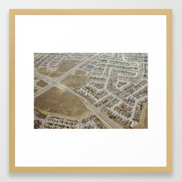 earth 2 Framed Art Print