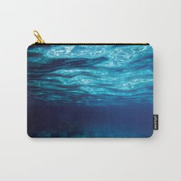 Blue Underwater Carry-All Pouch