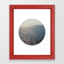 Sparkly Sea Framed Art Print