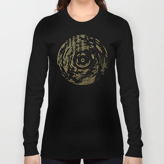 Gold Disc Long Sleeve T-shirt