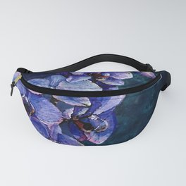Orchids of the night Fanny Pack