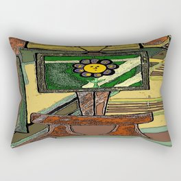 TV Mind Rectangular Pillow