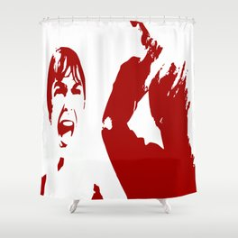 PSYCHO 2 Shower Curtain