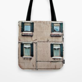 Venetian Windows Tote Bag