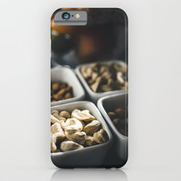 Almond and cashew iPhone Case