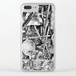 Italian Ruins Clear iPhone Case