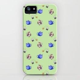 Tea Lovers Green iPhone Case