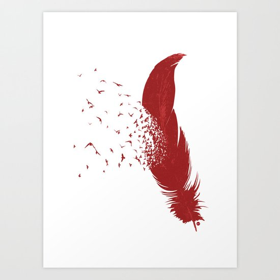 Birds of A Feather (Society6 Edition) Art Print