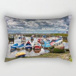The Fishing Fleet Rectangular Pillow